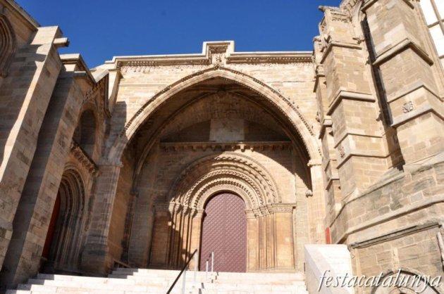 Lleida, Santa, Maria, Seu, Vella, Portada, Fillols