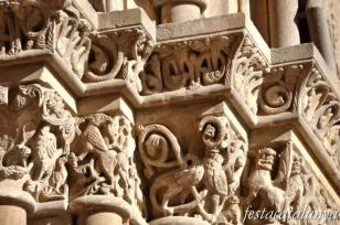 Lleida - Santa Maria de Lleida o la Seu Vella (Portada Fillols)