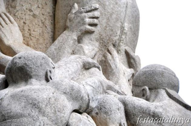Vendrell, El - Monument als Castellers