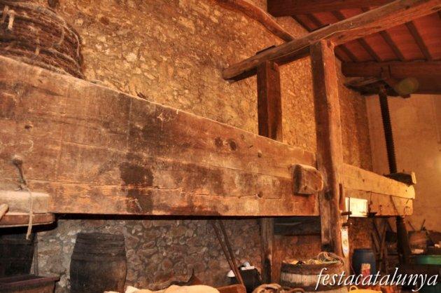 Vendrell, El - Premsa de biga i lliura del mas Borràs a Sant Vicenç de Calders