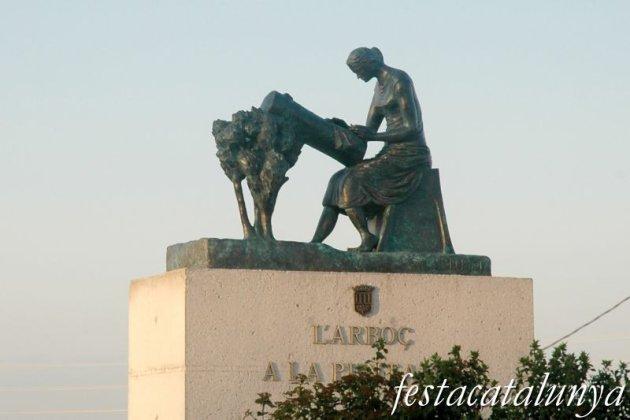 Arboç, L' - Monument a la Puntaire