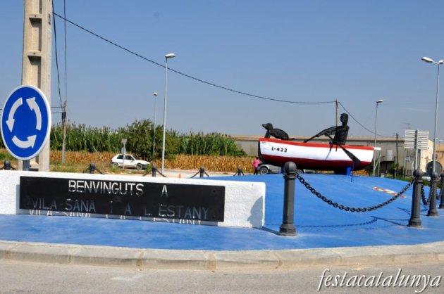 Vila-sana - Monument a l'Estany