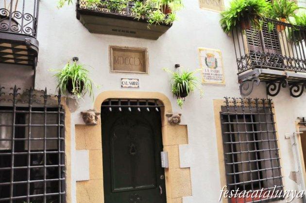 Berga - Cal Sarraís al carrer Buxadé
