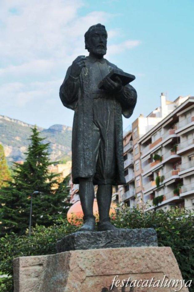 Berga - Monument a Pau Clarís i Casademunt