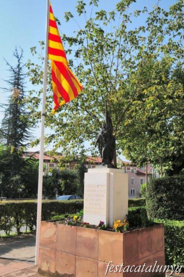 Berga - Monument a Rafael Casanova i Comes