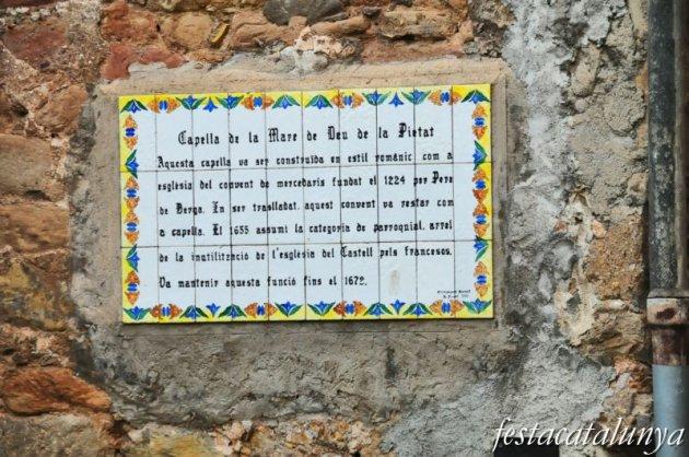 Berga - Nucli antic (Capella de la Pietat)