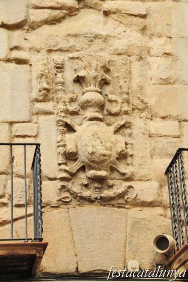 Berga - Nucli antic (Palau dels Peguera)