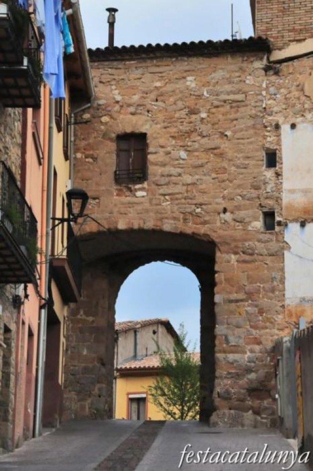 Berga - Nucli antic (Portal de Santa Magdalena)