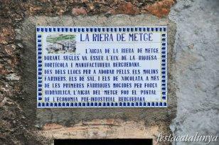 Berga - Molí de la Gratella al barri de Pinsania