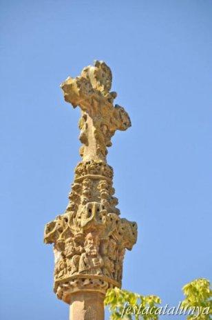 Fuliola, La - Creu de terme de Boldú