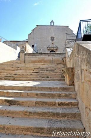 Bellpuig - Escalinata de l'església de Sant Nicolau