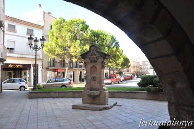 Bellpuig - Font de la Plaça de Sant Roc
