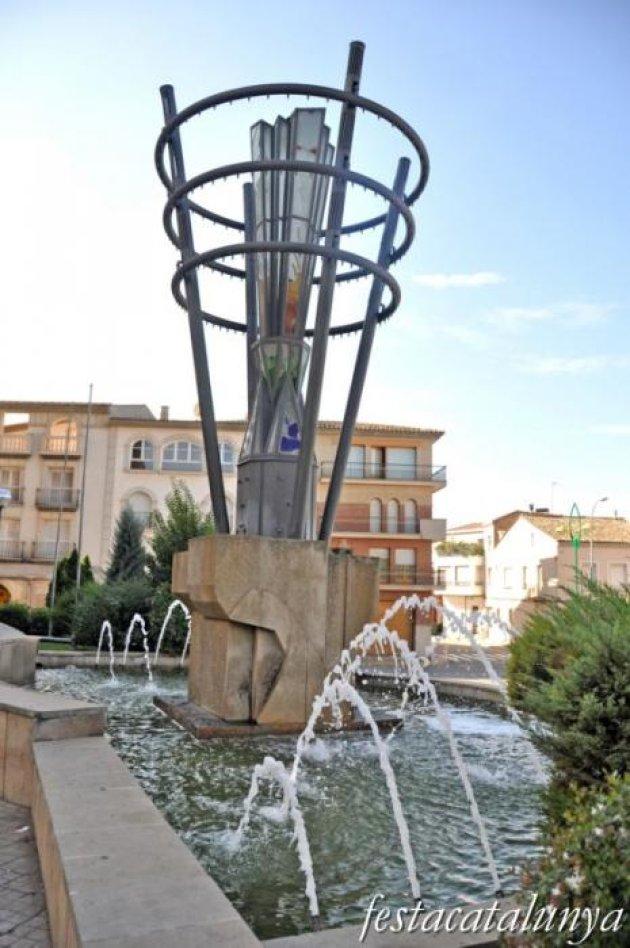 Bellpuig - Monuments urbans (Mil·lenari)