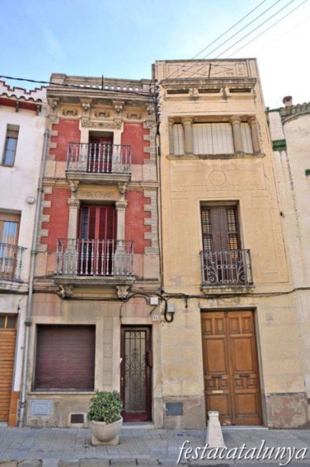 Sant Feliu de Codines - Edificis de l'Avinguda Catalunya, 12 i 14