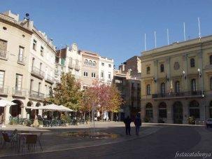 Igualada - plaça Ajuntament