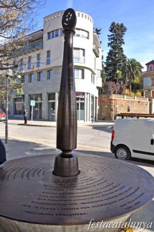 Sant Feliu de Codines - Nucli antic (Monument a la Independència de San Feliu)