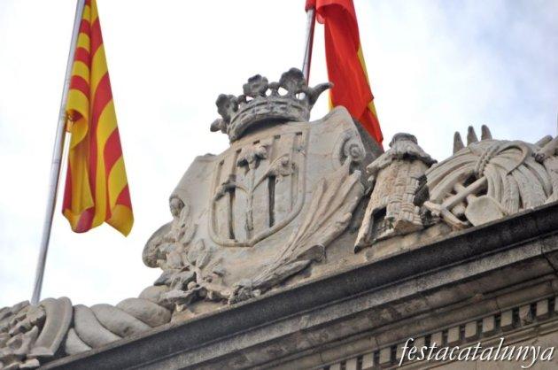 Lleida - Palau de la Paeria des de l'Avinguda Blondel