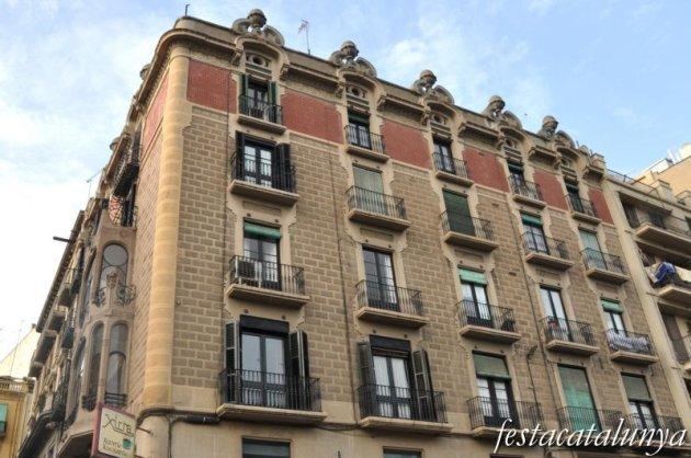 Lleida - Casa Melcior (Avinguda Blondel, cantonada Plaça Sant Francesc)