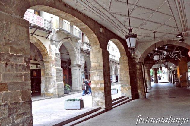 Lleida - Plaça de la Paeria (Els Porxos)