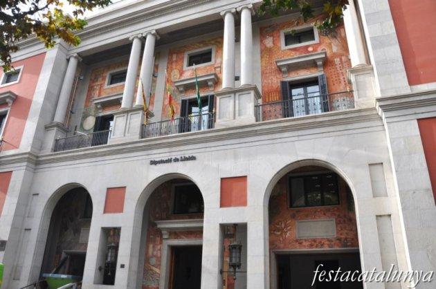 Lleida - Rambla de Ferran (Palau de la Diputació)