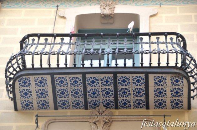 Lleida - Casa Magí Llorens al carrer Major