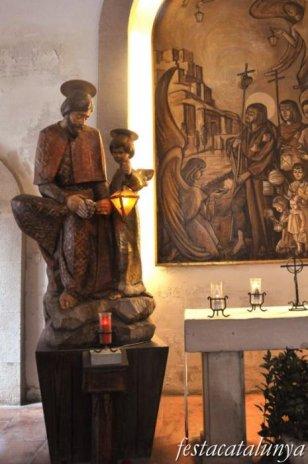 Lleida - Capella de Sant Jaume o del peu del Romeu al carrer Major