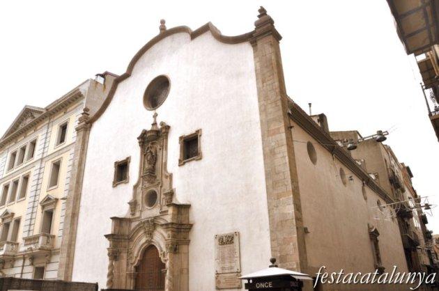 Lleida - Església de Sant Pere al carrer Major