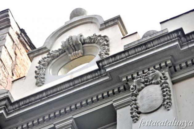 Lleida - Casino Principal al carrer Major