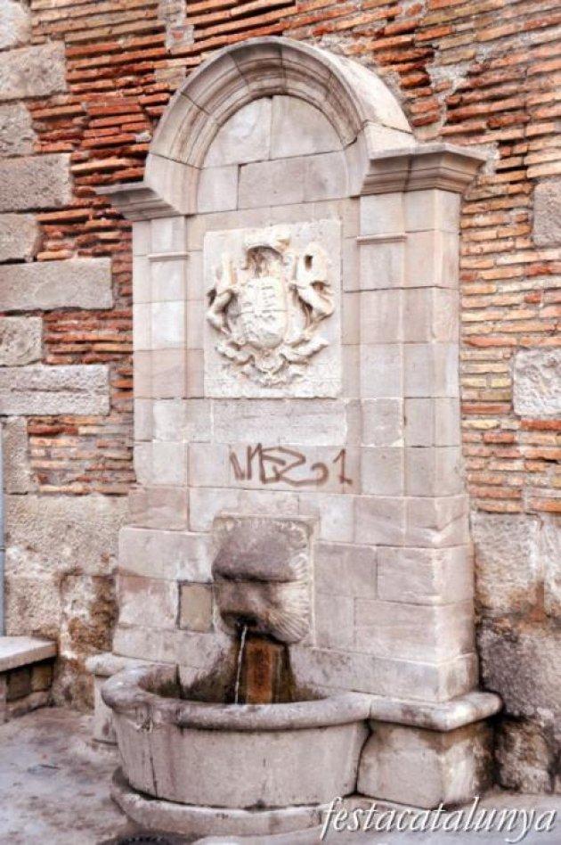 Lleida - Font de Sant Llorenç