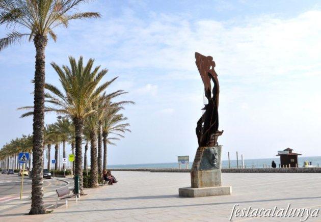 Calafell - Monument a Catalunya