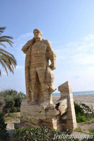 Calafell - Monument al pescador