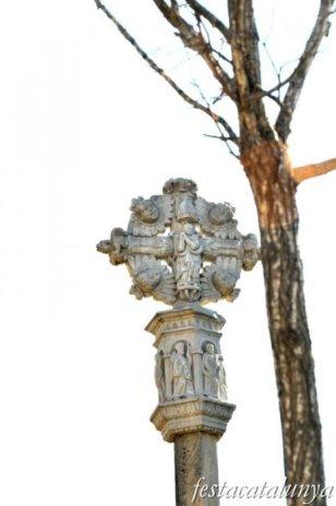 Sarral - Creu de terme de Sant Bartomeu
