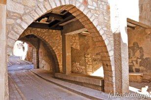 Sarral - Portals i porxades