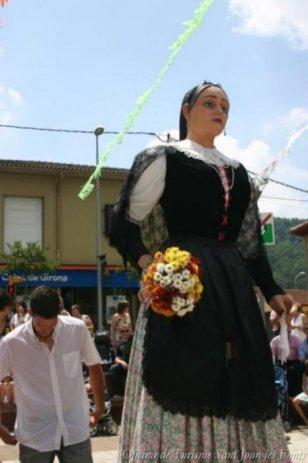 Sant Joan les Fonts - Festa del Roser (Foto: Oficina de Turisme Sant Joan les Fonts)