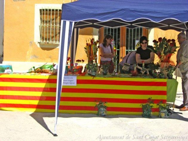 Sant Cugat Sesgarrigues - Diada de Sant Jordi (Foto: Ajuntament de Sant Cugat Sesgarrigues)