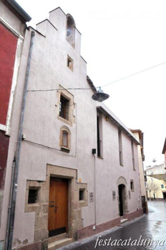 Maçanet de la Selva - Nucli antic (Capella de Sant Sebastià)