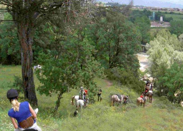 Vidrà - Ruta a cavall pels Paisatges del Ter i el Bisaura