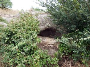 Prats de Rei, Els - Forat a la roca