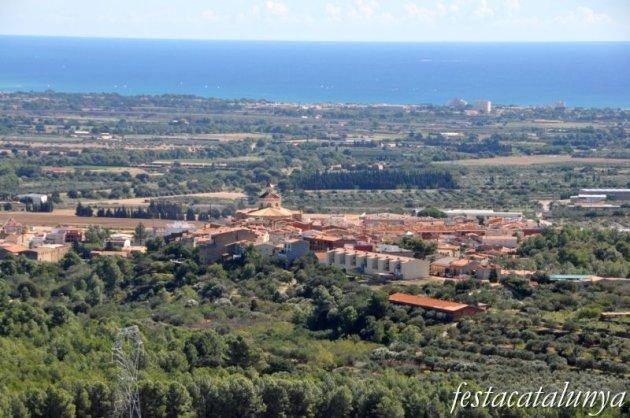 Mont-roig del Camp - Ermita de la Mare de Déu de la Roca i ermita de Sant Ramon (Vista panoràmica)