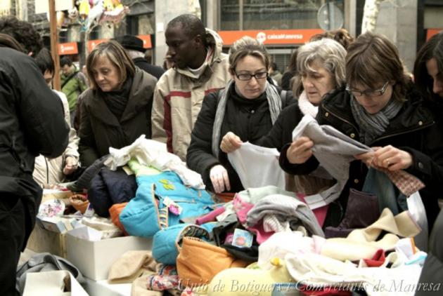 Manresa - Fira Fora Stocks (Foto: Unió de Botiguers i Comerciants de Manresa)