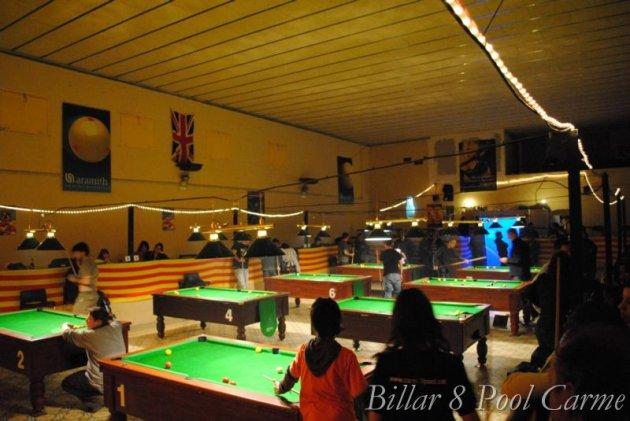 Carme - Open de Billar 8 Pool (Foto: Billar 8 Pool Carme)