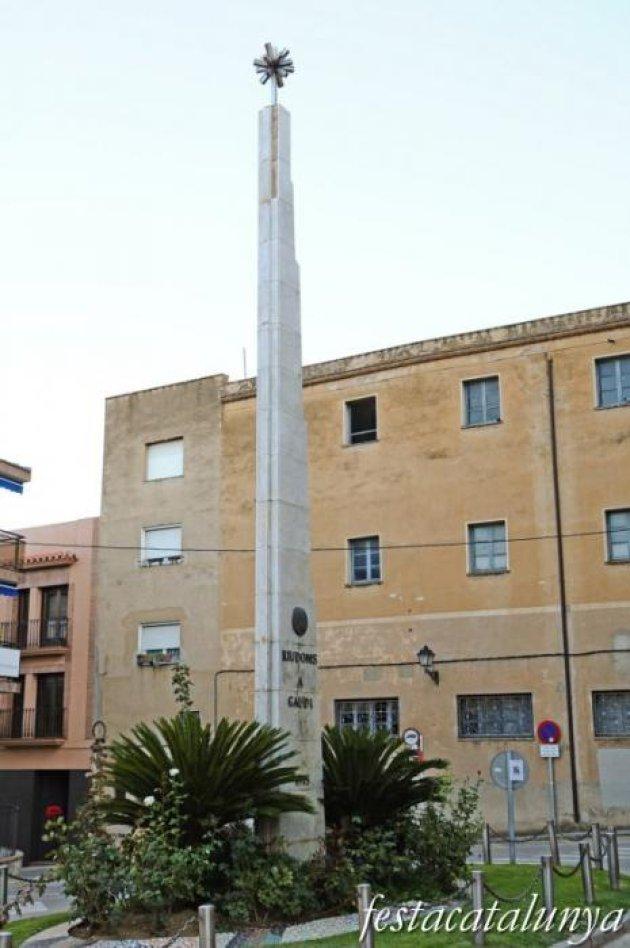 Riudoms - Monument a Antoni Gaudí