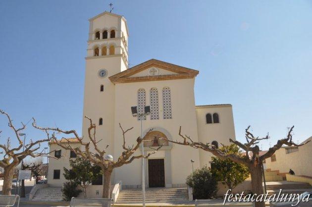 Móra la Nova - Església parroquial de la Mare de Déu del Remei