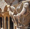 Claustre del monestir de Santa Maria de l'Estany