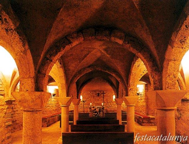 Oristà - Església parroquial de Sant Andreu (cripta)