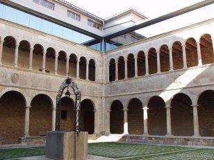 Igualada - claustre convent agustins