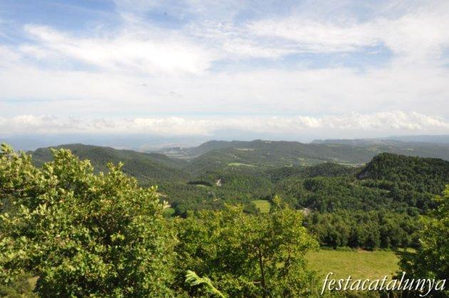 Sant Agustí de Lluçanès - Santuari dels Munts: vistes panoràmiques