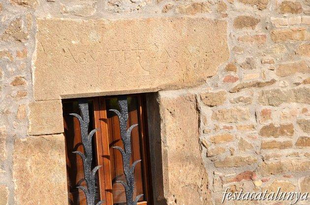 Sant Agustí de Lluçanès - Cases pairals del terme (Nucli de l'Alou)