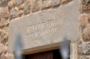 Olost - Casa Gran a Santa Creu de Jutglar