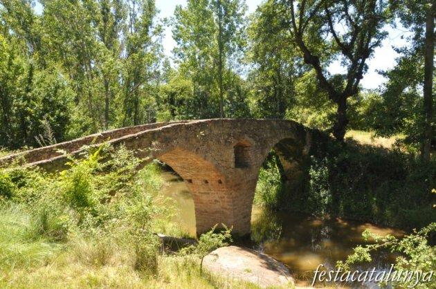 Sant Martí d'Albars - Pont romànic del molí del pont